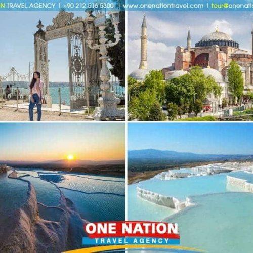 Istanbul and Pamukkale Tour