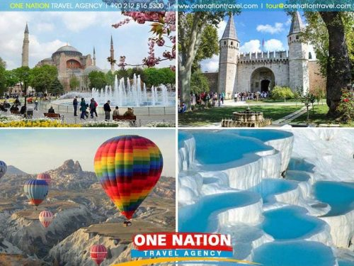 6 Days Turkey Package Tour covering Istanbul Cappadocia and Pamukkale