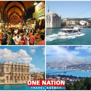 Bosphorus Cruise Plus Dolmabahce Palace and Two Continents