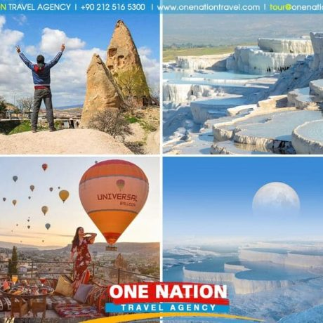 3-Day Cappadocia and Pamukkale Tour from Istanbul by Plane