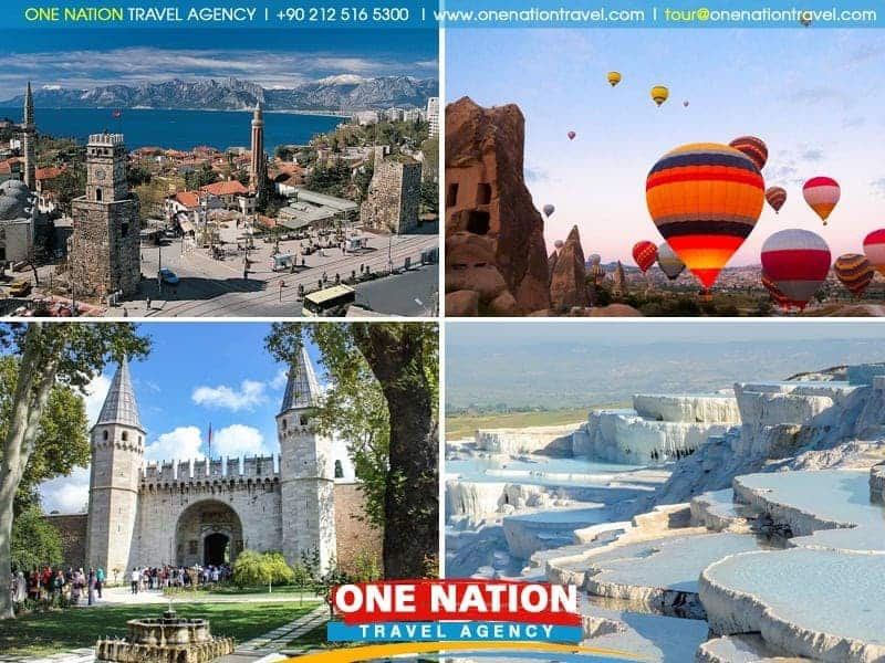9 Days Istanbul, Ephesus, Pamukkale, Antalya and Cappadocia Tour