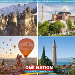 10 Days Istanbul Cappadocia and Antalya Tour