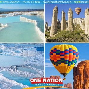 3 Days Cappadocia and Pamukkale Tour from Istanbul