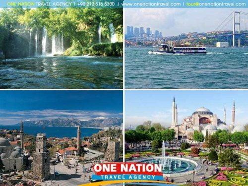 7 Days Istanbul and Antalya Tour