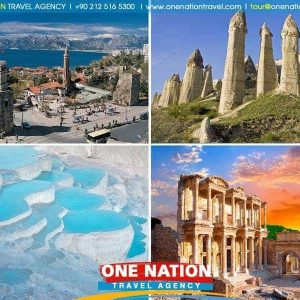 6 Days Cappadocia Antalya Pamukkale and Ephesus Tour