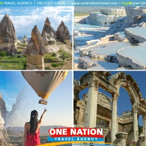 5-Day Cappadocia, Pamukkale and Ephesus Tour from Istanbul by Plane