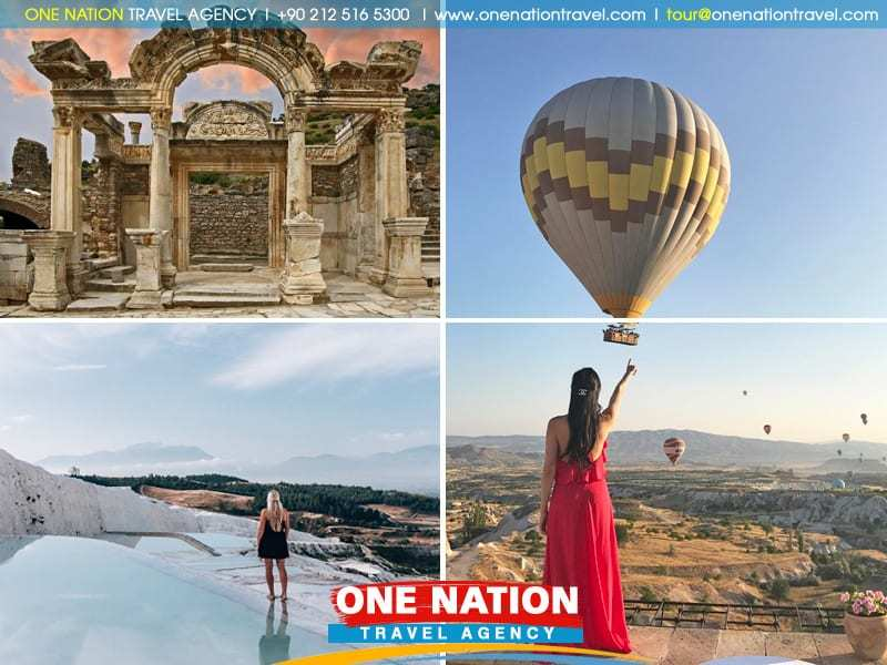 6-Day Best of Turkey Tour from Istanbul By Plane