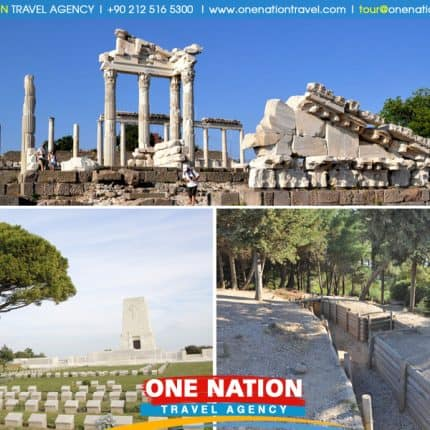 2-Day Pergamum, Gallipoli and Troy Tour from Kusadasi