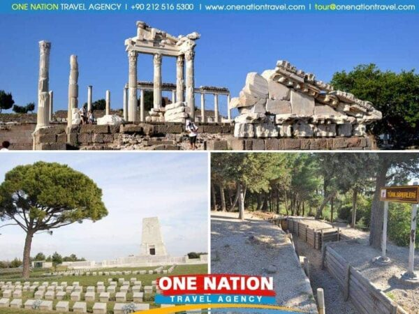 2-Day Pergamum, Gallipoli and Troy Tour from Kusadasi
