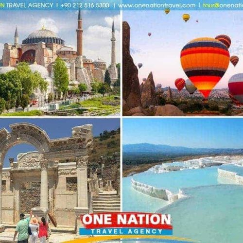 6-Day Istanbul Cappadocia Pamukkale and Ephesus Tour