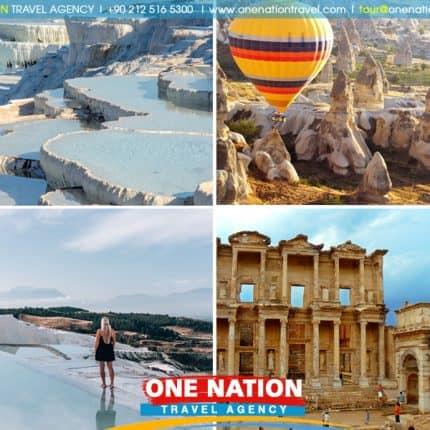 Cappadocia, Pamukkale, Pergamum and Ephesus Tour