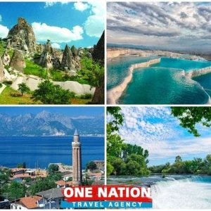 4 Days Cappadocia Pamukkale and Antalya Tour
