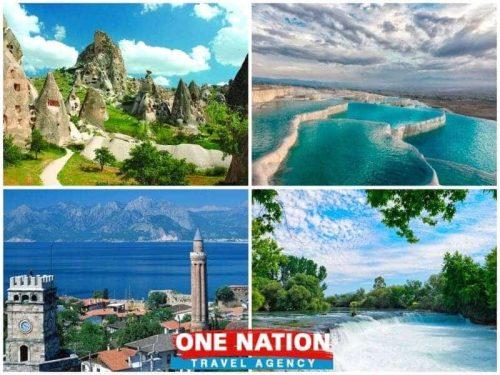 4 Days Cappadocia Pamukkale and Antalya Tour