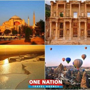 8-Day Istanbul, Ephesus, Pamukkale and Cappadocia Tour