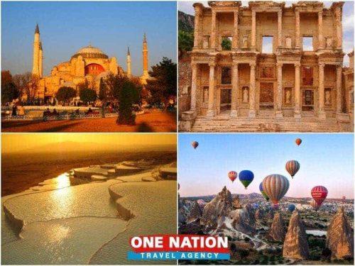 8-Day Istanbul Ephesus Pamukkale and Cappadocia Tour
