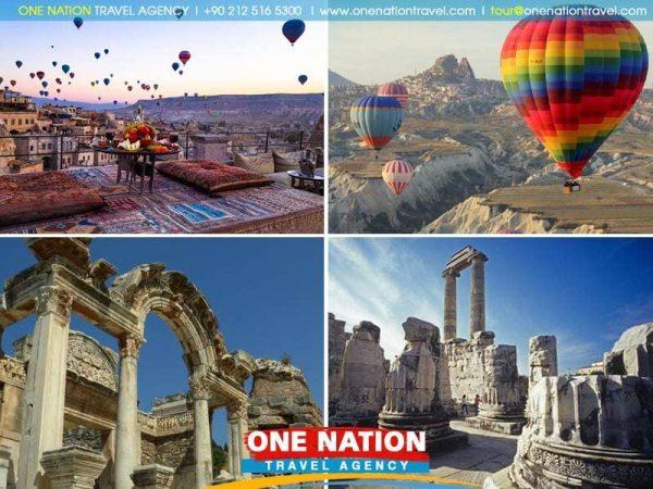 4 Day Cappadocia, Ephesus, Priene, Miletus and Didyma Tour