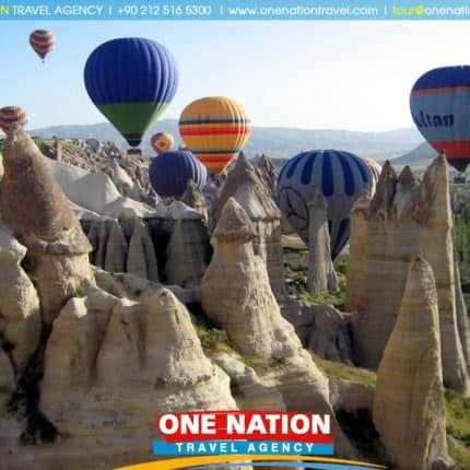3 Days Cappadocia and Pamukkale Tour from Istanbul by Plane & Bus
