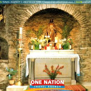 The House of Virgin Mary - The belief that the Virgin Mary had spent her last days in the vicinity of Ephesus and that she had died there...