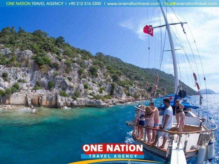 Gulet Cruise Fethiye to Olympos
