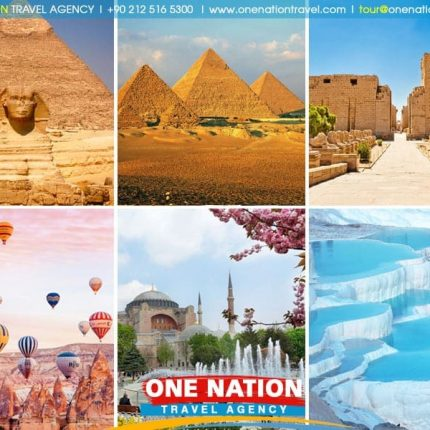 The highlight of Turkey and Egypt tour features and educational journey and this trip brings you to two of the most attractive countries in middle east.