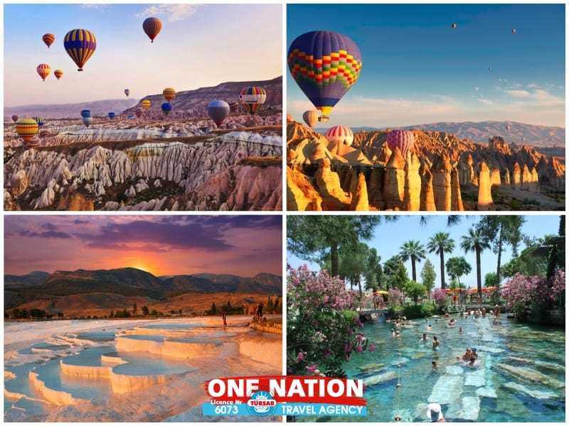 5 Days Cappadocia and Pamukkale Budget Tour from Istanbul by Bus