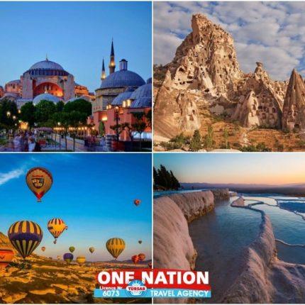 6-Day Istanbul, Cappadocia and Pamukkale Tour