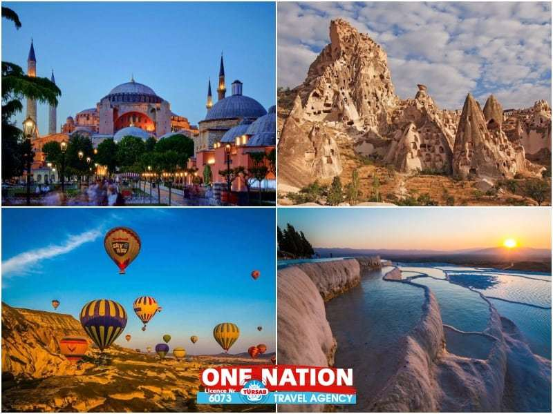6 Days Istanbul, Cappadocia and Pamukkale Budget Tour by Bus
