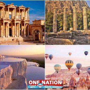 7 Days Ephesus, Priene, Miletus, Didyma, Pamukkale and Cappadocia Tour