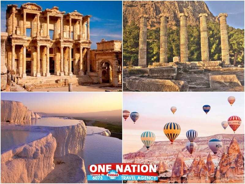 7 Days Ephesus, Priene, Miletus, Didyma, Pamukkale and Cappadocia, Budget Tour from Istanbul by Bus
