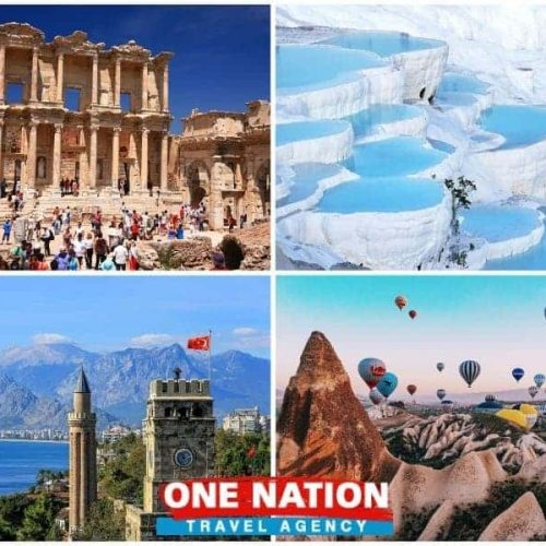 8 Days Ephesus Pamukkale Antalya and Cappadocia Budget Tour by Bus