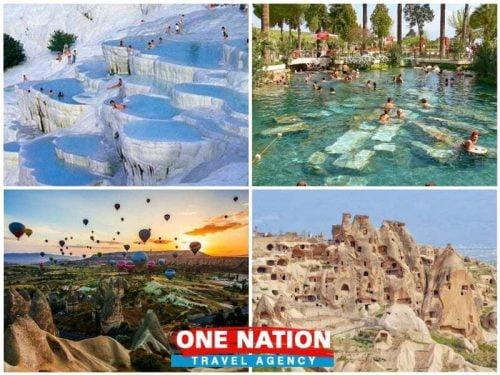 Pamukkale and Cappadocia Tour