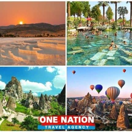 Pamukkale and Cappadocia Tours