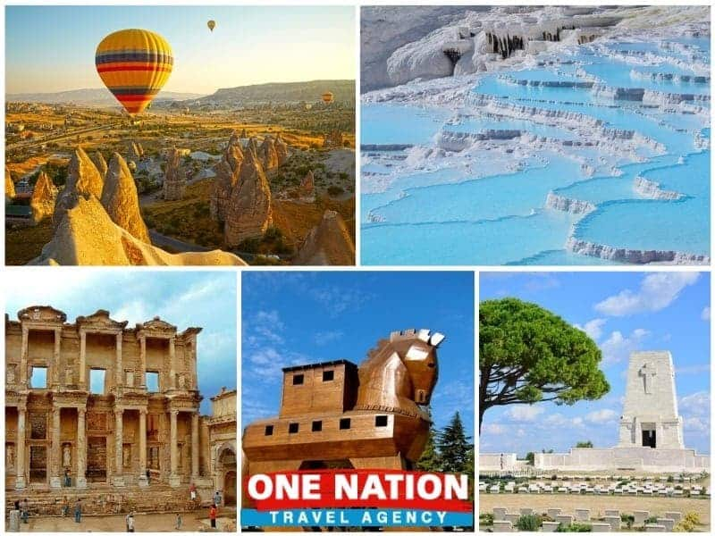 6 Days Cappadocia, Pamukkale, Ephesus, Gallipoli & Troy Budget Tour from Istanbul by Bus