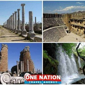 daily antalya tour perge aspendos side kursunlu waterfall