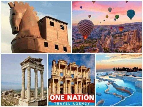 6-Day Troy Pergamon Ephesus Pamukkale and Cappadocia Tour