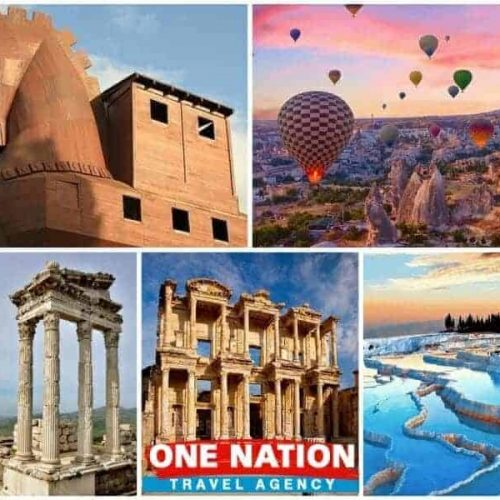 6-Day Troy Pergamon Ephesus Pamukkale and Cappadocia Tour