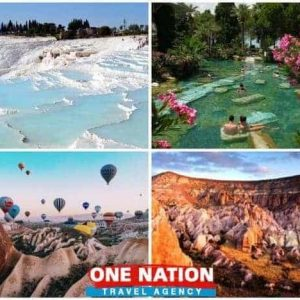 4 Days Pamukkale, Ephesus and Cappadocia Tour from Istanbul