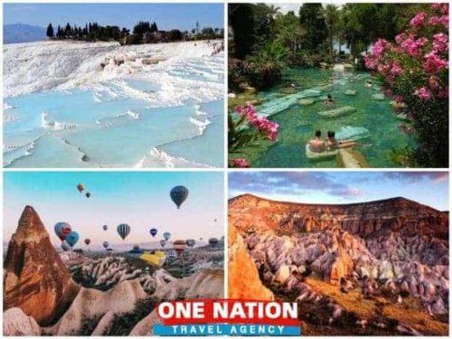 4 Days Pamukkale, Ephesus and Cappadocia Tour from Istanbul