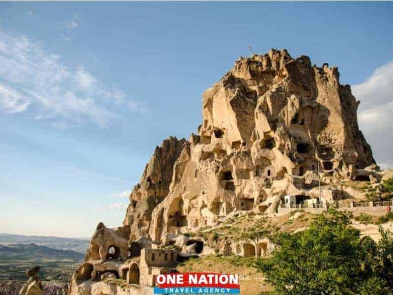 Uchisar-castle