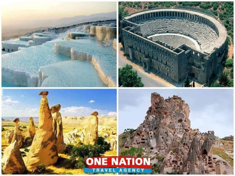 5 Days Pamukkale Antalya and Cappadocia Tour from Izmir