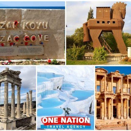 Visit Gallipoli Troy Pergamon Pamukkale Ephesus
