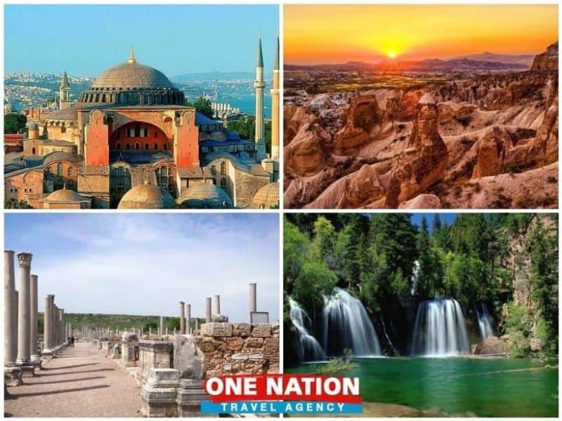 Istanbul Cappadocia and Antalya Tour