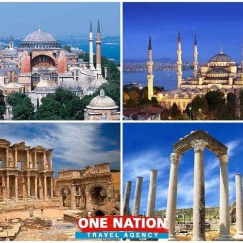 5 Days Istanbul, Ephesus and Antalya Tour Package