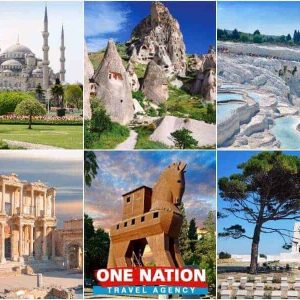 7 Days Istanbul Cappadocia Pamukkale Ephesus Troy and Gallipoli Tour