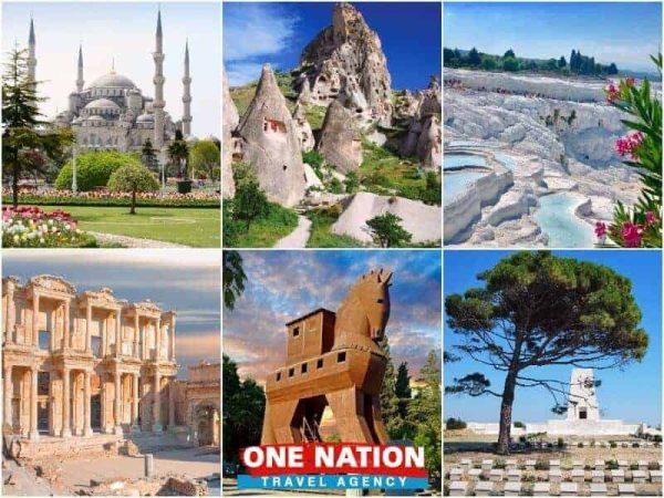 7 Days Istanbul Cappadocia Pamukkale Ephesus Troy and Gallipoli Tour