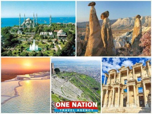 7 Days Istanbul Cappadocia Pamukkale Pergamon Ephesus Tour