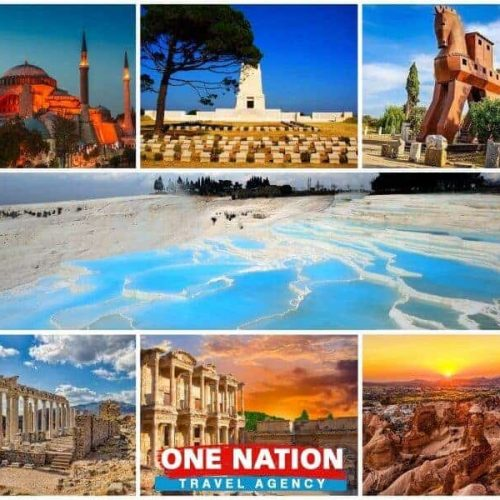 8 Days Istanbul Gallipoli Troy Pergamon Ephesus Pamukkale and Cappadocia Tour