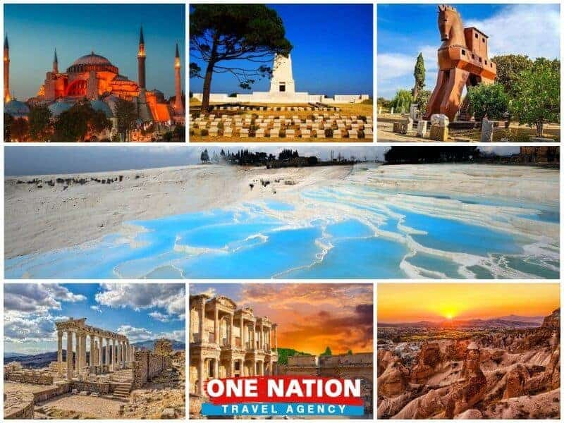 8 Days Istanbul, Gallipoli, Troy, Pergamon, Ephesus, Pamukkale and Cappadocia Tour