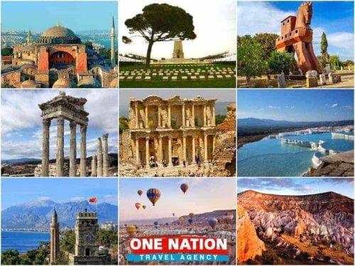 12 Days Istanbul Gallipoli Troy Pergamon Ephesus Pamukkale Antalya and Cappadocia Tour