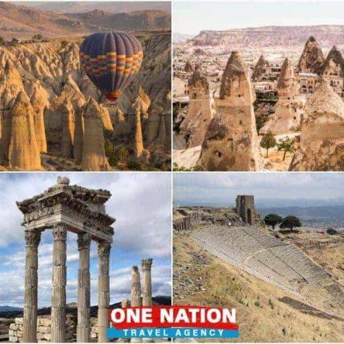 3 Day Cappadocia and Pergamum Tour